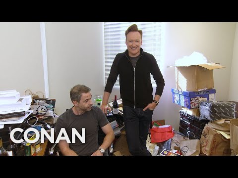 Conan Downsizes Jordan Schlanskys Office - CONAN on TBS