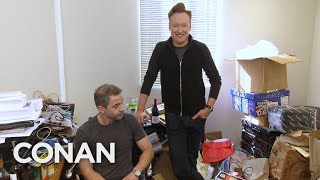 Conan Downsizes Jordan Schlansky's Office - CONAN on TBS