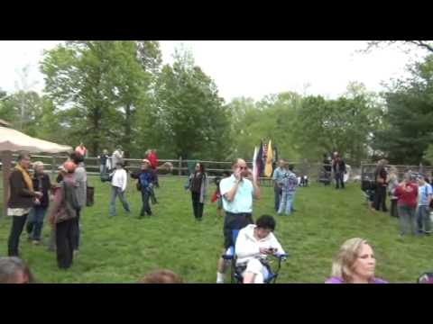 Ramapough Lenape Indian Rally with 350.org to Protect Water from gas fracking Part I