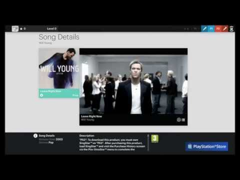 SingStar PS4 - getting started