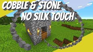 Minecraft Cobblestone Farm St๐ne Farm No Silk Touch: How to make a Cobblestone Generator (Avomance)