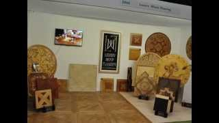 Luxury Wood Flooring At 100% Design Exhibition In Earls Court London 2014