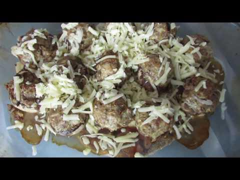 грибы шампиньоны фаршированные фаршем