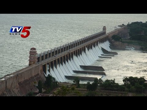 Heavy Inflows To Tungabhadra dam | Water Releases into river : TV5 News
