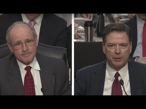 RIGHT AFTER SENATOR ASKED COMEY QUESTION ABOUT MICHAEL FLYNN, SUDDENLY ALL HELL BROKE LOOSE