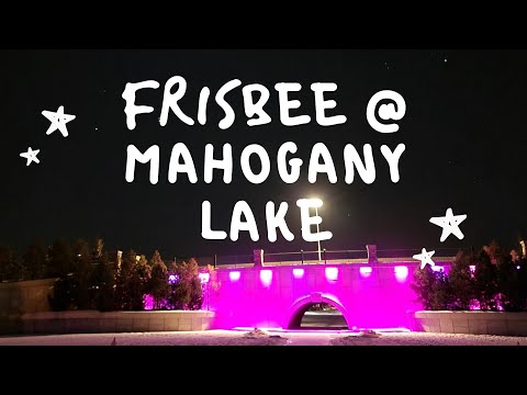 Creating My Winter Experience - Frisbee on Ice at Mahogany Lake