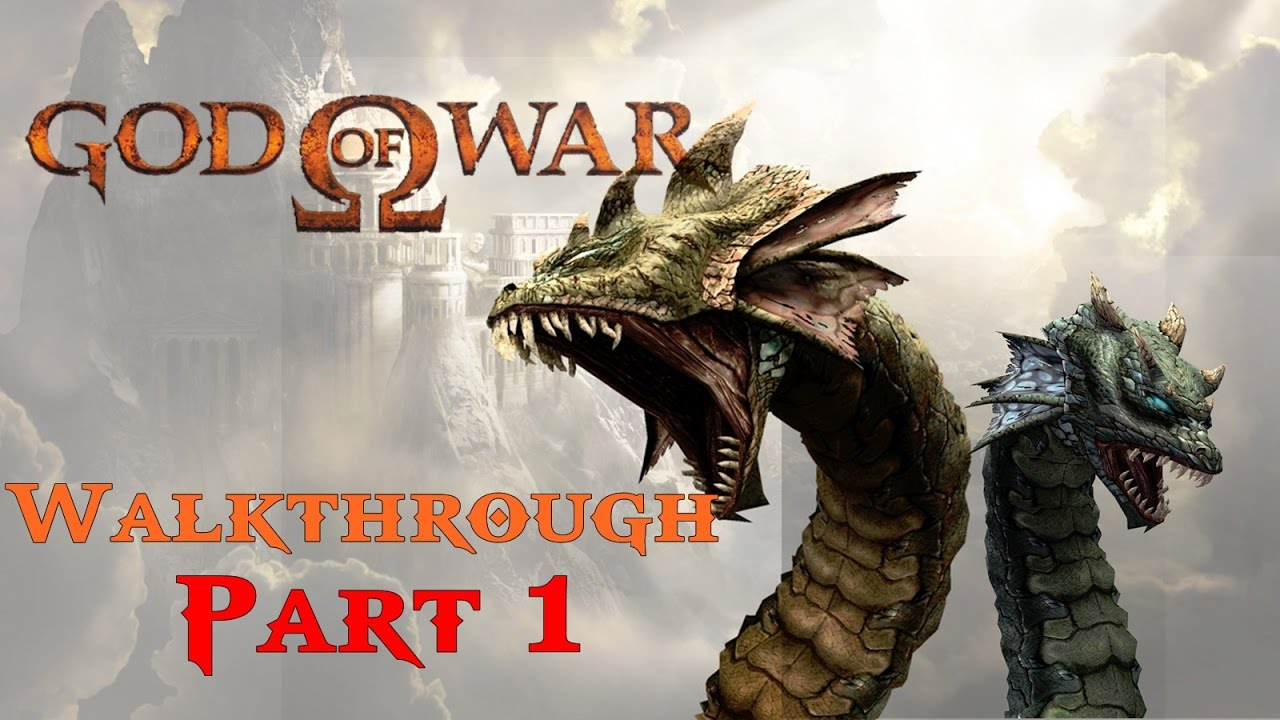 god of war 1 hydra boss walkthrough