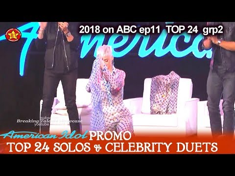 American Idol 2018 Promo #2 Top 24 Solo and Celebrity Duets April-15 -16  Sunday& Monday
