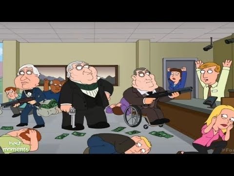 Peter And The Gangs Bank Robbery
