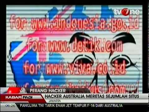 Hacker Australia Serang Situs Penting IndonesiaHD