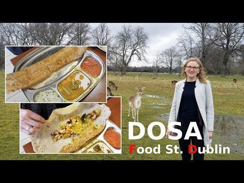 Indian Dosa in Dublin City, Ireland, Europe