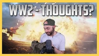 What did you think of the WW2 reveal? Plus, Sledgehammer sent me cool stuff!