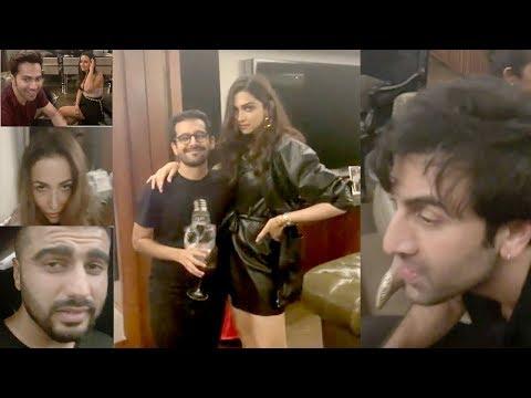 Bollywood Couples Party Saturday Nite@KaranJohar's House -Ranbir,Deepika,Arjun,Malaika,Shahid,Varun