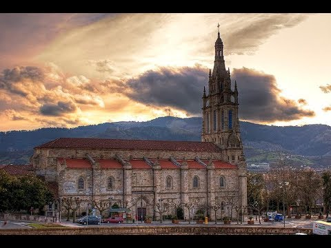 Places to see in ( Bilbao - Spain ) Basilica of Begona