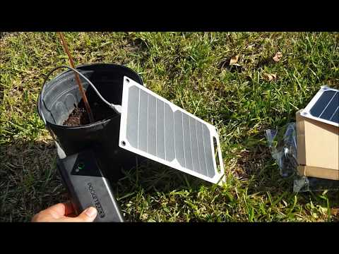10Watt ultra thin solar panel review