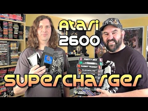 Atari 2600 Games SuperCharger Add-on - Rare!