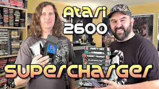 Atari 2600 SuperCharger Add-on - MOAR POWER!