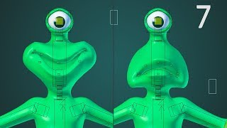 CGC Classic: Action Constraints (Blender 2.6) - Modeling and Animating an Alien Character Pt. 7
