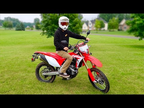 NEW 2019 CRF450L REVEAL!!