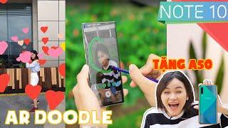 101 cách sáng tạo AR Doodle trên Galaxy Note 10 | QUÀ TẶNG A50S