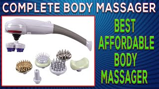 Complete Body Massager Multi Purpose Shaping Massager Review India for Weight Loss Demo In Hindi