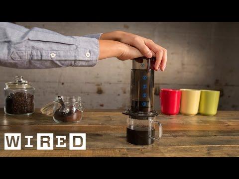 Aeropress Coffee Maker Demo : Gwilym Davies Demonstrating the Aeropress Coffee Maker Doovi