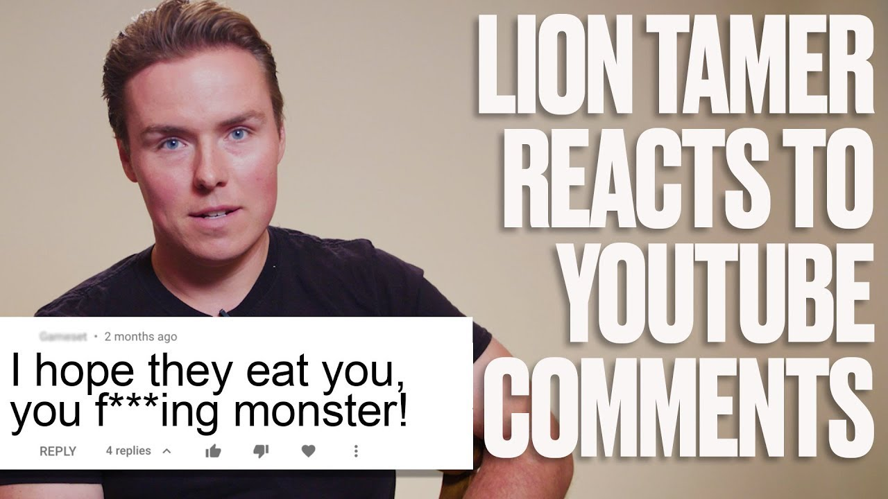 Lion Tamer Reacts To Internet Trolls | LADbible