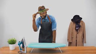 How to Straighten Hat Brim