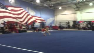 Алекс 7 лет начало сезона спортивная гимнастика ноябрь 2013 осень