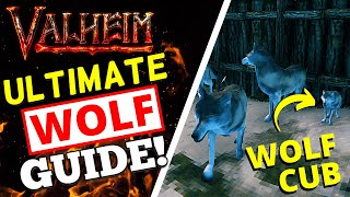 Valheim - How T๐ Tame + Breed Wolves! WOLF GUIDE!
