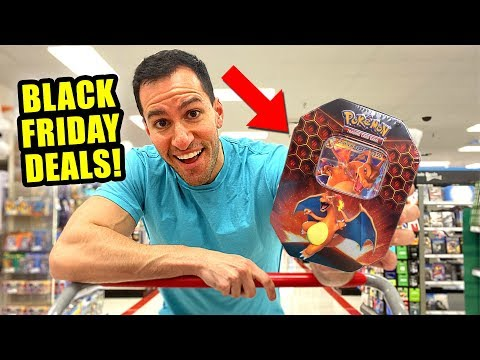 *BLACK FRIDAY 2019 DEALS ON POKEMON CARDS!* Opening Packs And Boxes!