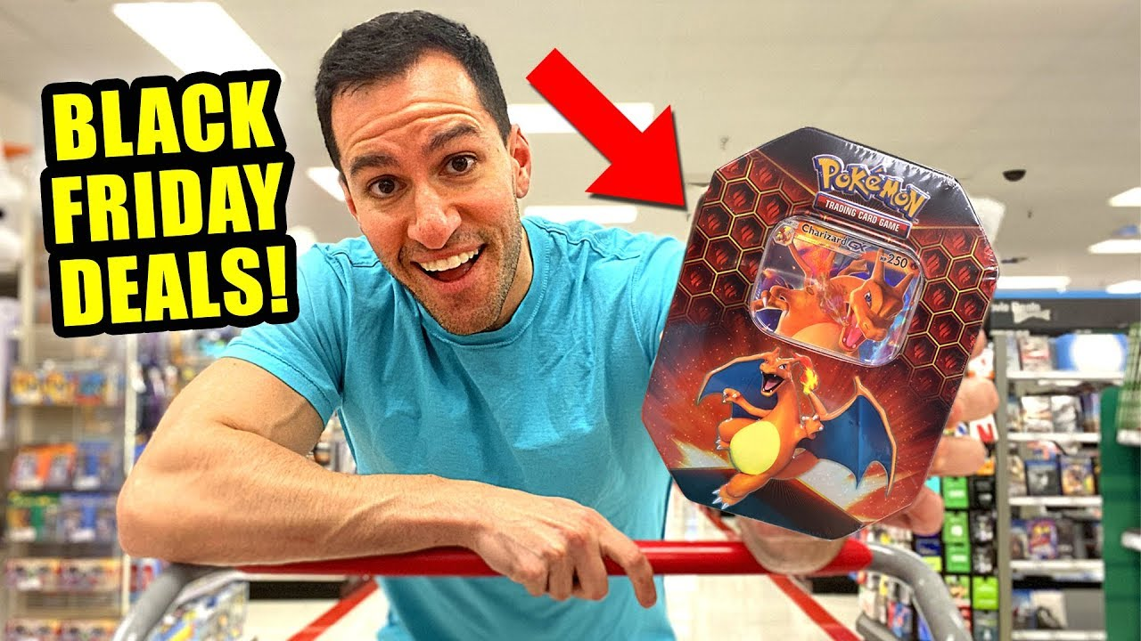 Black Friday 2019 Deals On Pokemon Cards Opening Packs And Boxes Youtube