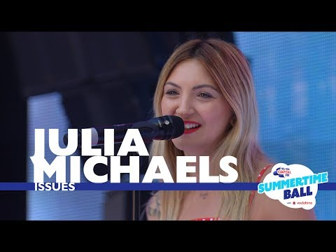 Julia Michaels Issues  At Capitals Summertime Ball 2017