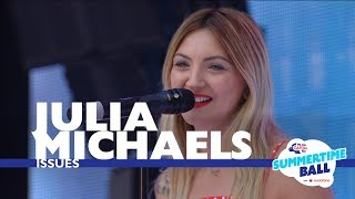 Video Julia Michael's 'Issues' (Live At Capital's Summertime Ball 2017) download MP3, 3GP, MP4, WEBM, AVI, FLV Januari 2018