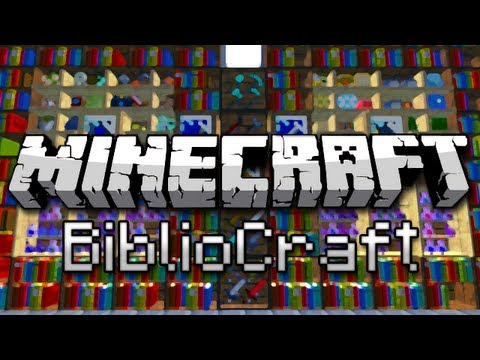 Minecraft: Armor Stands, Display Cases, And More! (BiblioCraft Mod Showcase)