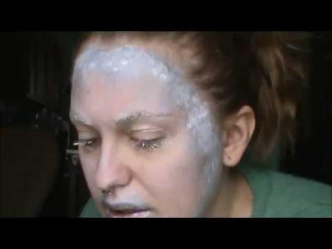 Silver Halloween Makeup