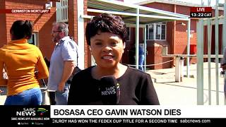 Update: Gavin Watson's death in a car accident close to the OR Tambo International Airport