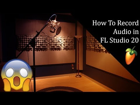 How to record audio in FL Studio 20   Turn on and off direct monitoring