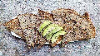 GLUTEN FREE QUINOA FLATBREAD VEGAN   | Connie's RAWsome kitchen