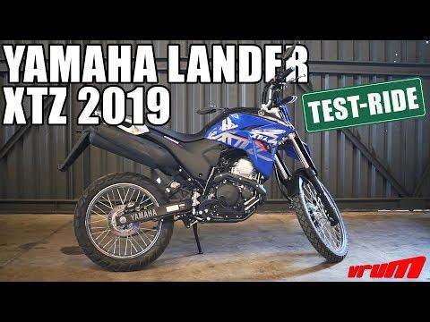 TESTE: NOVA YAMAHA LANDER 2019 NA TERRA E NA CIDADE/ Vrum Brasília