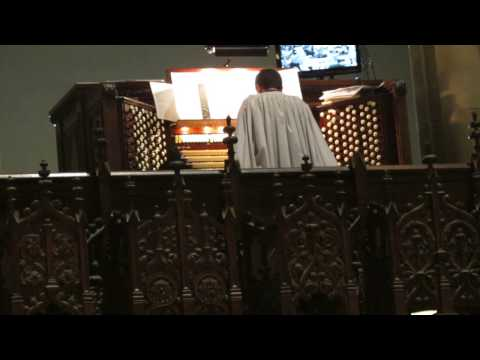 Easter 2014 - Fanfare and Easter Hymn - Cathedral of St. John The Divine, NYC