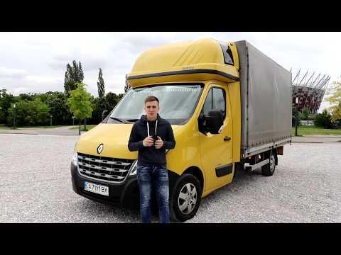 Renault Master груз.  III поколение рестайлинг Борт-тент