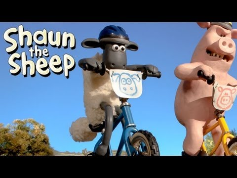 Shaun the Sheep - Championsheeps - BMX (OFFICIAL VIDEO)