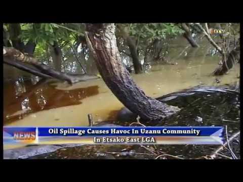 Oil spillage causes havoc in Uzanu community, Edo State