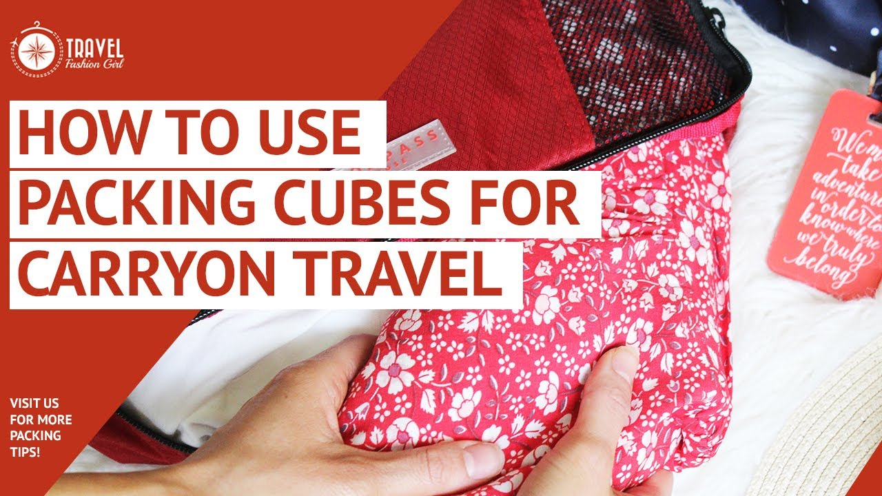Packing Cubes: This Video Will Change the Way You Travel