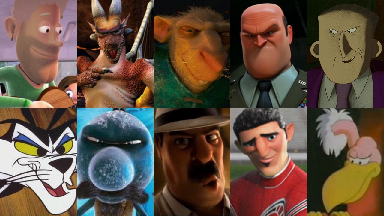 Defeats Of My Favorite Animated Non Disney Movie Villains Part X Youtube