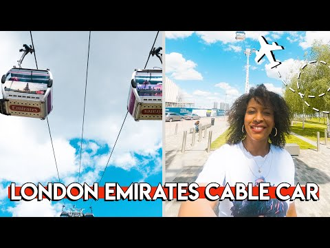 Emirates Cable Car London -  Best Views In London!