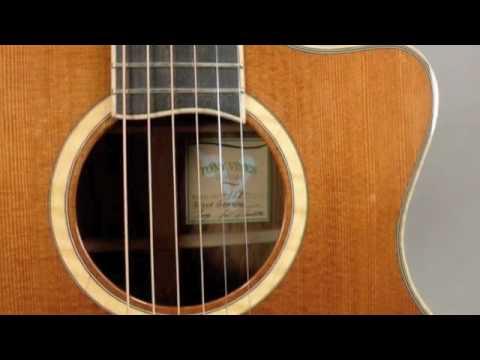 Handmade Tony Vines Bella Grande Guitar played by ...