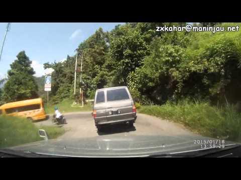 44 hairpin turn down to Lake Maninjau