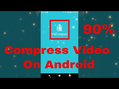 How To Compress video on Androin [Guidline]